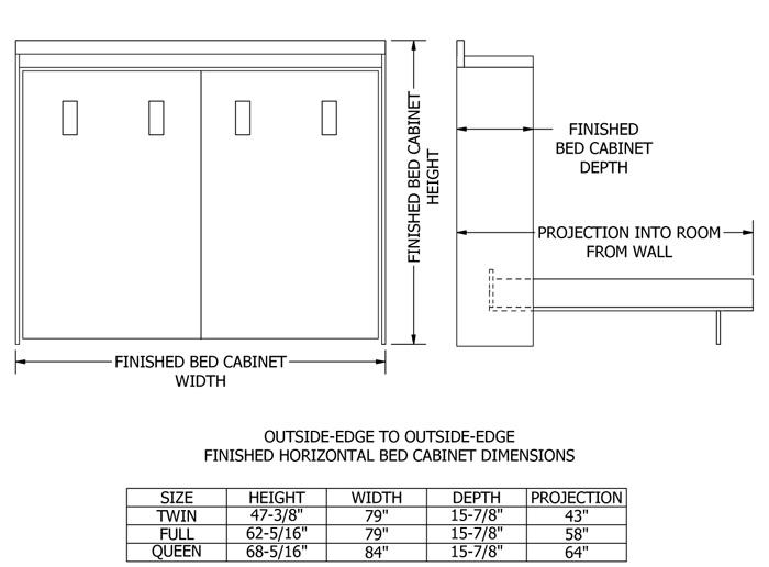 home solutions kansas murphy bed. Black Bedroom Furniture Sets. Home Design Ideas