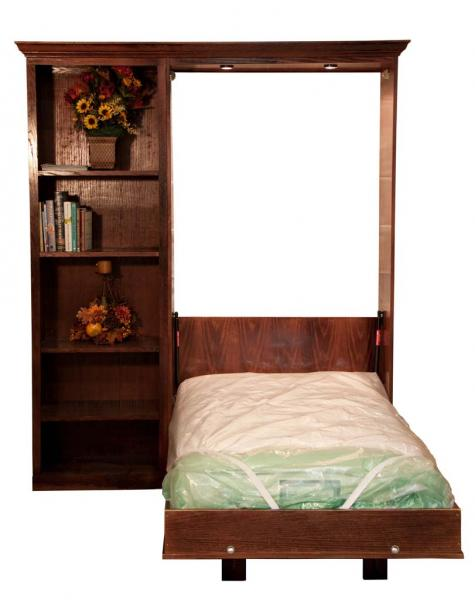 Twin Size Finished Kansas Murphy Bed